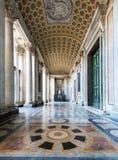 大教堂二圣乔瓦尼的内部在Laterano,罗马 免版税库存照片