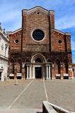 大教堂二圣乔瓦尼e保罗,威尼斯,意大利 免版税库存图片