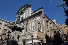 大教堂二圣保洛Maggiore,拿坡里 免版税库存照片