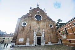 大教堂二圣塔玛丽亚Gloriosa dei Frari 库存照片