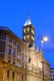 大教堂二圣塔玛丽亚Maggiore在罗马 库存图片