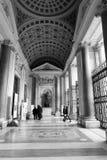 大教堂二圣塔玛丽亚Maggiore在罗马 免版税库存照片