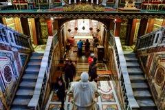 大教堂二圣塔玛丽亚Maggiore在罗马 库存照片