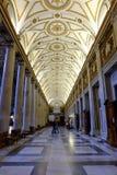 大教堂二圣塔玛丽亚Maggiore在罗马 免版税图库摄影