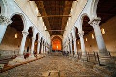 大教堂二圣玛丽亚Assunta,阿奎莱亚 免版税库存图片