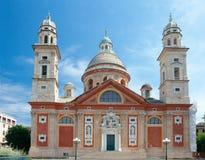 大教堂二圣玛丽亚Assunta (1522),热那亚,意大利 库存照片