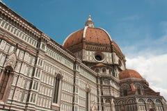 大教堂二圣玛丽亚del菲奥雷,中央寺院二佛罗伦萨 库存照片