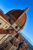 大教堂二圣玛丽亚del菲奥雷-中央寺院,佛罗伦萨,意大利 库存照片