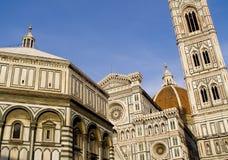 大教堂二圣玛丽亚del Fiori佛罗伦萨,意大利 免版税库存图片