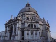 大教堂二圣玛丽亚della致敬在威尼斯,意大利 库存图片