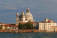 大教堂二圣玛丽亚della致敬在威尼斯,意大利 免版税图库摄影