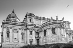 大教堂二圣玛丽亚Maggiore, Cappella Paolina在罗马 图库摄影