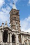 大教堂二圣玛丽亚Maggiore 免版税库存图片