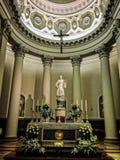 大教堂二圣马力诺 免版税图库摄影