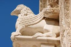 大教堂二普利亚ruvo 免版税库存照片