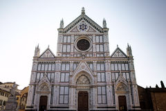 大教堂二Santa Croce 免版税图库摄影