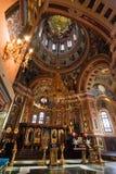 大教堂伊尔库次克喀山 库存照片