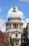 大教堂伦敦保罗圣徒 图库摄影