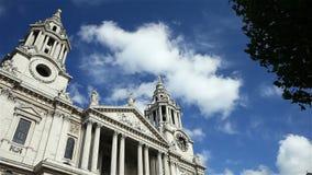 大教堂伦敦保罗s st英国 影视素材