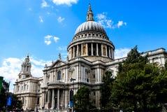 大教堂伦敦保罗st 图库摄影
