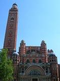 大教堂伦敦威斯敏斯特 免版税库存图片