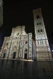 大教堂佛罗伦萨意大利 免版税图库摄影