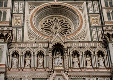 大教堂佛罗伦萨意大利 库存照片