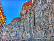 大教堂佛罗伦萨 库存照片
