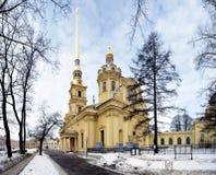 大教堂保罗・彼得・彼得斯堡俄国st 库存照片