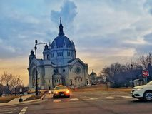 大教堂保罗圣徒 免版税图库摄影