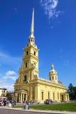 大教堂保罗・彼得・彼得斯堡俄国st 库存图片