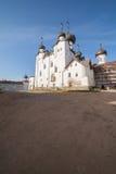大教堂修道院正统solovetsky 库存照片