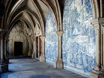 大教堂修道院波尔图 库存照片