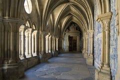 大教堂修道院画廊se 库存照片