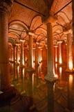 大教堂储水池伊斯坦布尔火鸡 库存图片