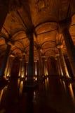 大教堂储水池伊斯坦布尔 免版税库存照片