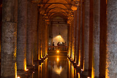 大教堂储水池2,土耳其,伊斯坦布尔 免版税库存图片