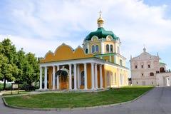 大教堂克里姆林宫诞生俄国梁赞 免版税库存照片