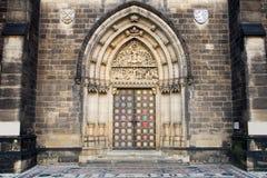 大教堂入口保罗・彼得st 免版税图库摄影