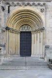 大教堂入口门户 免版税库存照片