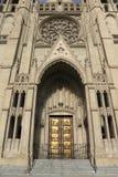 大教堂入口雍容 免版税库存图片