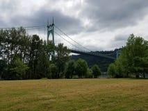 大教堂公园 库存图片