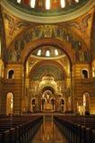大教堂内部路易斯圣徒 免版税库存照片