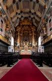 大教堂内部 免版税图库摄影