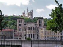 大教堂利昂 库存照片