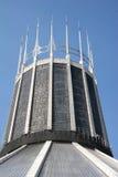 大教堂利物浦城市居民 免版税库存图片
