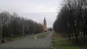大教堂加里宁格勒 免版税图库摄影