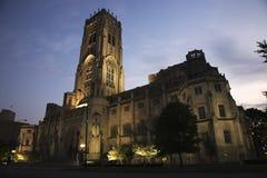 大教堂印第安纳波利斯礼拜式苏格兰人 免版税库存照片