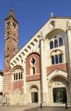 大教堂响铃塔,卡萨莱蒙费拉托,意大利 库存照片