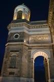 大教堂响铃塔,埃斯泰尔戈姆匈牙利 免版税图库摄影